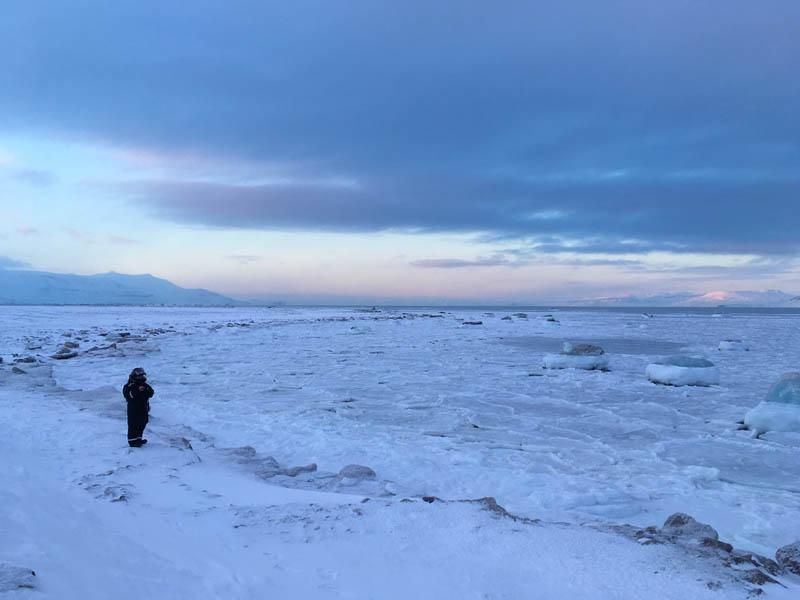 Arctic Treasures Schneemobiltour - Tagestour zum Tempelfjord www.gindeslebens.com