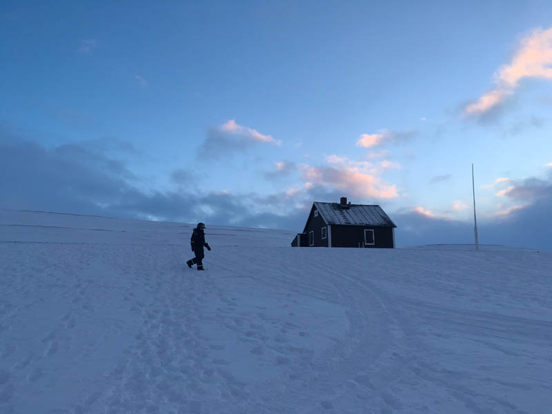 Arctic Treasures Schneemobiltour - Tagestour zum Tempelfjord Spitzbergen Reise - Aktivitäten, Ausflüge und Touren in der Arktis im Winter www.gindeslebens.com