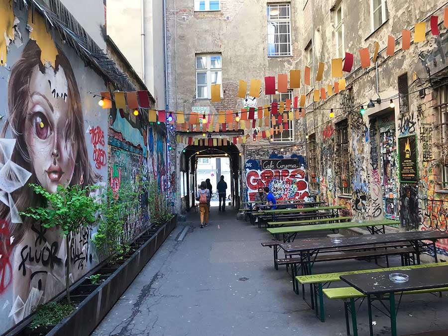 Die besten Spots für Streetart Berlin Mitte © www.missesbackpack.de