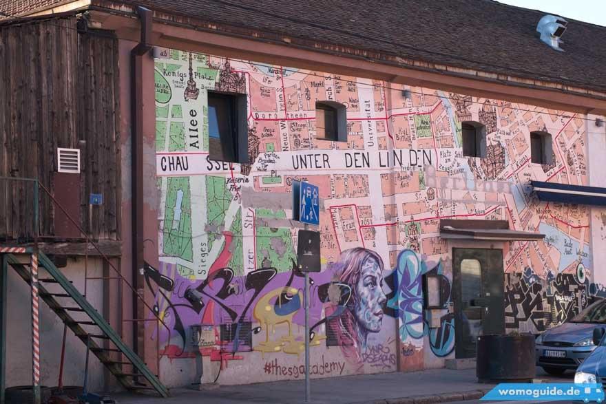 Die besten Spots für Streetart - Belgrad Serbien WoMo Guide womoguide.de