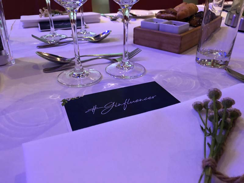 Ginfluencer Dinner mit Comepass und Wien Gin im S'PARKS by Executive Chef Ademir Husagic