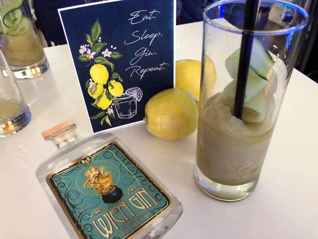 Ginfluencer Dinner mit Comepass und Wien Gin im S'PARKS im Hilton Vienna Stadtpark www.gindeslebens.com