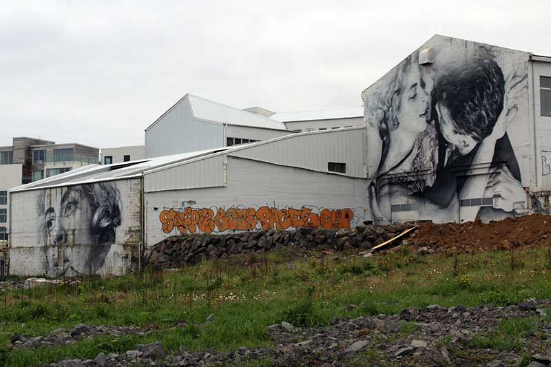 Streetart Island Reykjavik © My Happy Places