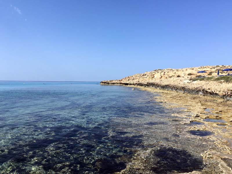 Strand Tasia Maris Beach Resort Kurztrip nach Agia Napa Zypern - Traumstrände in Europa www.gindeslebens.com