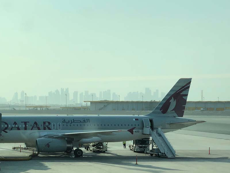 Flughafen Doha www.gindeslebens.com