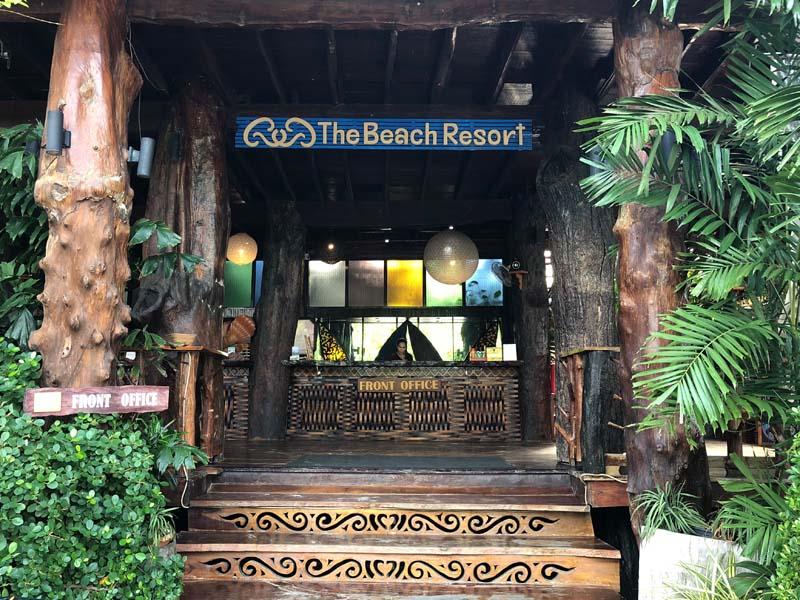 Rezeption Phi Phi The Beach Resort www.gindeslebens.com