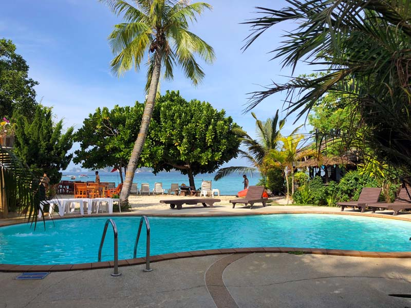 Pool Phi Phi The Beach Resort Koh Phi Phi Don Thailand www.gindeslebens.com