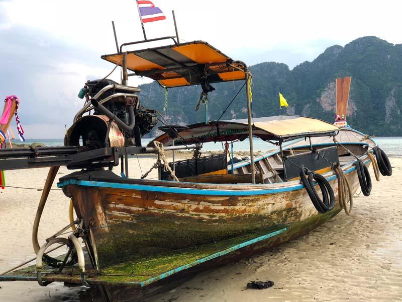 Tonsai Bay Koh Phi Phi Don Thailand www.gindeslebens.com