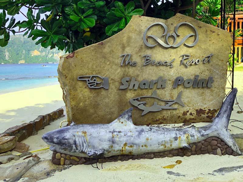 Shark Point Long Beach Koh Phi Phi Don Thailand www.gindeslebens.com