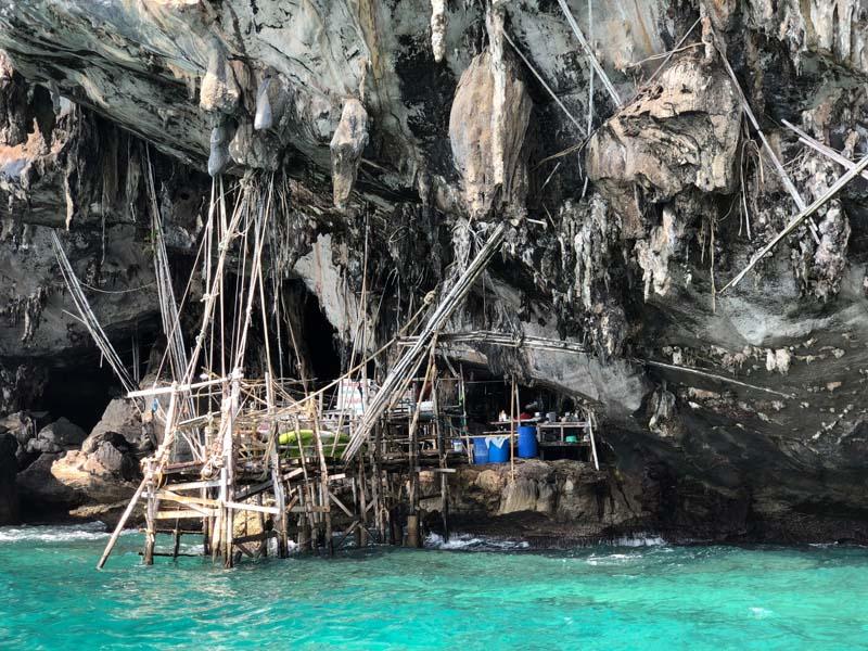 Viking Cave Koh Phi Phi Leh Thailand www.gindeslebens.com