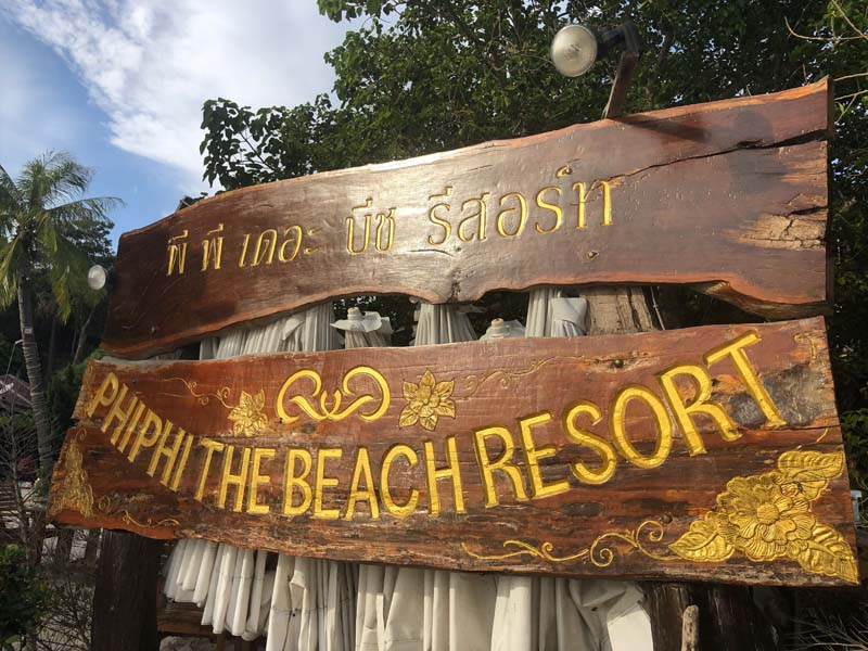 Phi Phi The Beach Resort Thailand www.gindeslebens.com