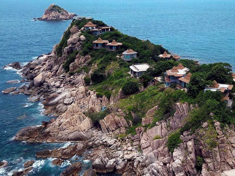 Anlage Sai Daeng Resort Koh Tao Thailand www.gindeslebens.com