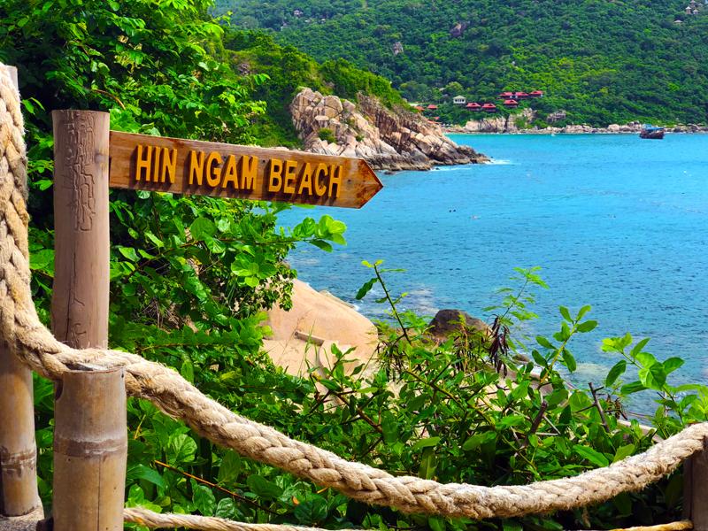 Hin Ngam Beach perfekt zum Schnorcheln - Koh Tao Thailand www.gindeslebens.com