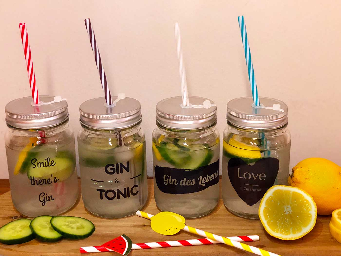 Smartphoto.de – unsere individuellen Gin Tonic Gläser