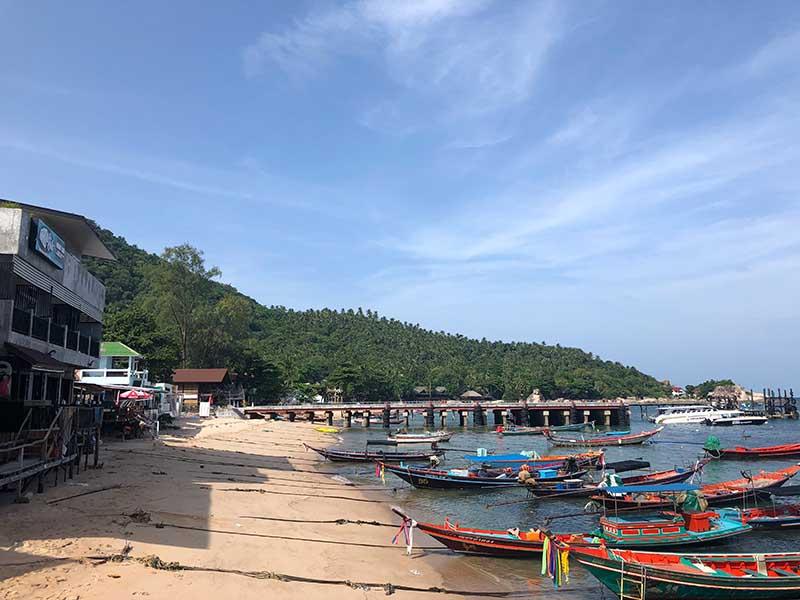 Anreise Phuket - der Hafen von Koh Tao www.gindeslebens.com