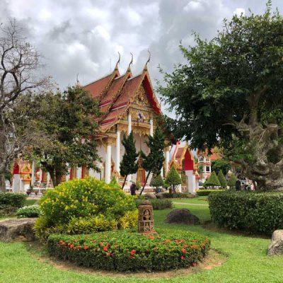 Wat Chalong Tempel Phuket in der Regenzeit - Sehenswertes, Aktivitäten und Tipps www.gindeslebens.com