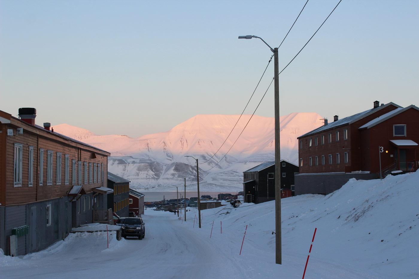 Spitzbergen Hotels und Restaurants in Longyearbyen
