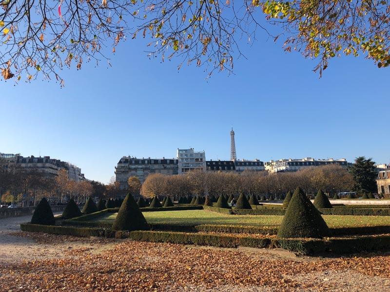 Park beim Invalidendom Paris Sehenswürdigkeiten - Highlights, Tipps, Hotel & Restaurants in Paris