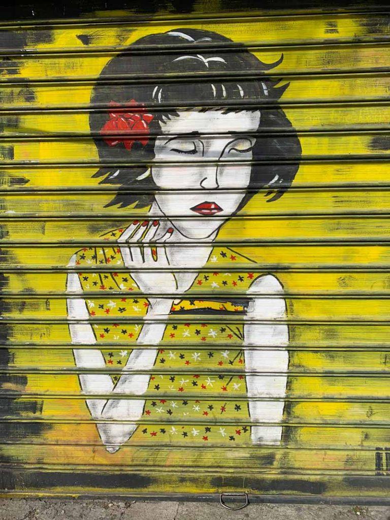 Streetart Tirana Albanien www.gindeslebens.com