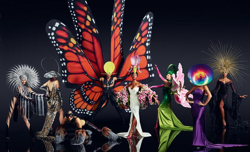 VIVID Grand Show Jungle Extravaganza Kostueme Foto Robert Grischek