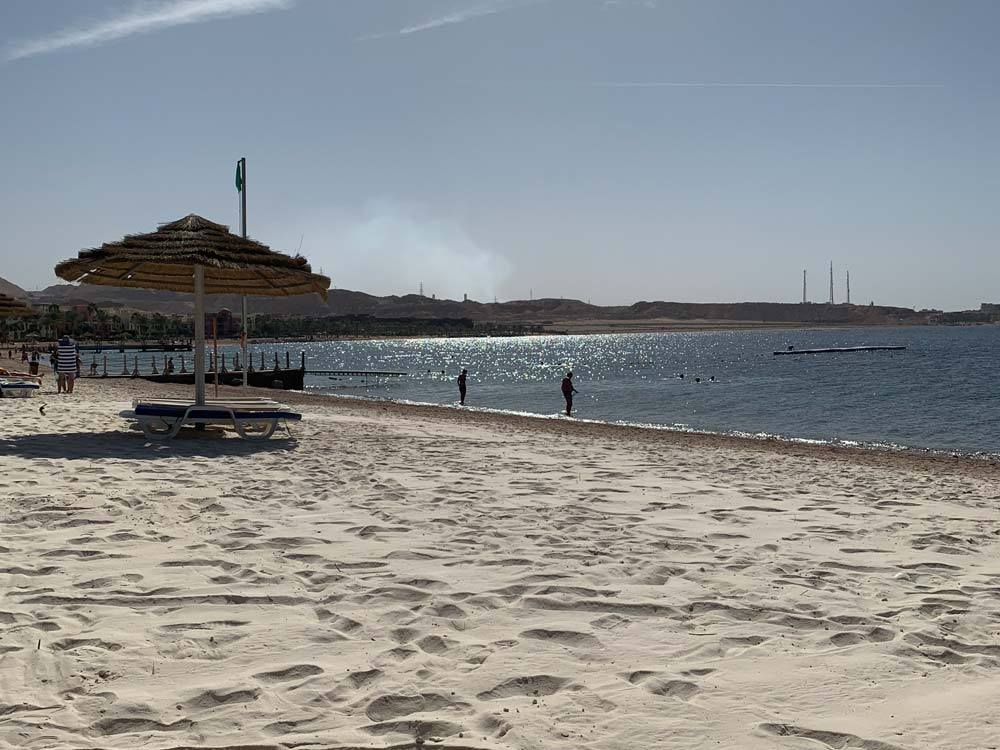 Strand Jordanien Hotel Tala Bay Resort Aqaba www.gindeslebens.com