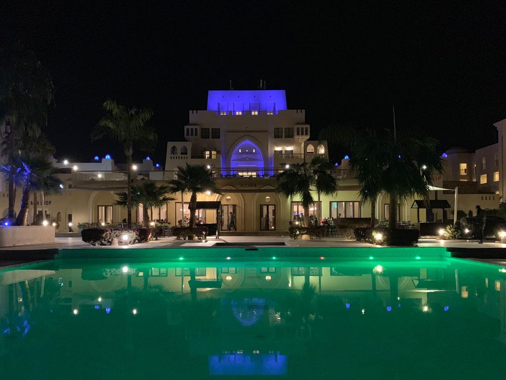 Restaurant Aziab Strand Jordanien Hotel Tala Bay Resort Aqaba www.gindeslebens.com