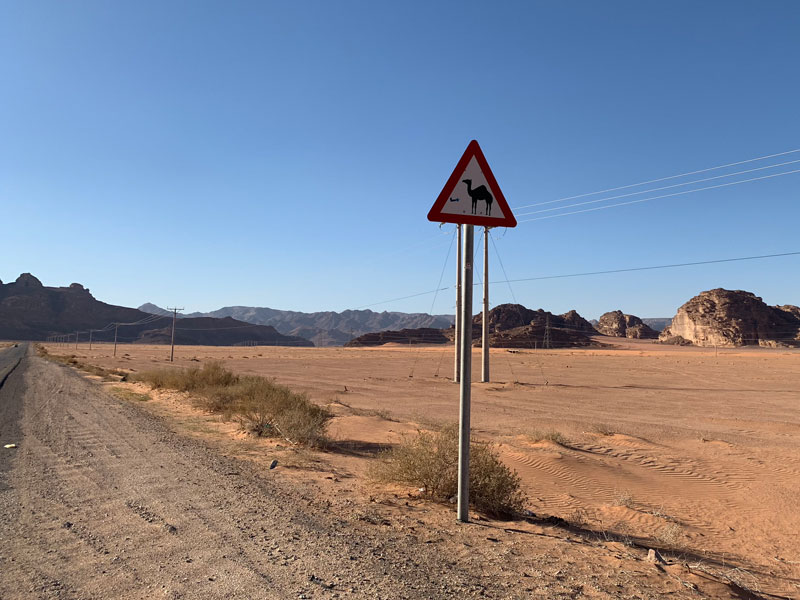 Wadi Rum Jordanien und der Al Hijaz Zug www.gindeslebens.com