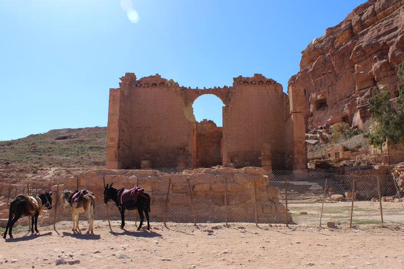 Qasr al-Bint Petra Jordanien www.gindeslebens.com