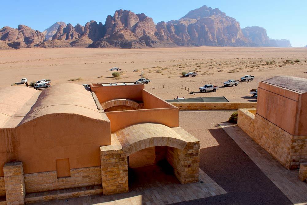 Besucherzentrum Wadi Rum Visitor Center Jordanien und der Al Hijaz Zug www.gindeslebens.com