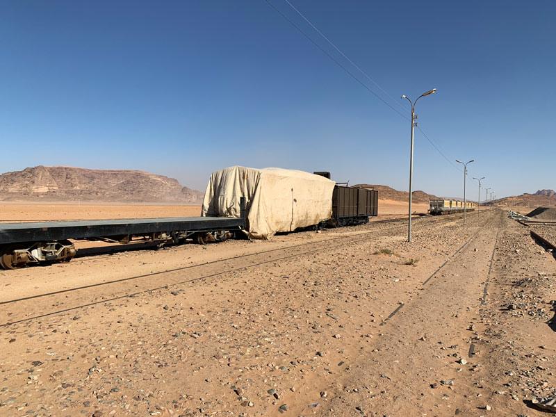 Wadi Rum Station Al Hijaz Zug der Hejaz Railway Jordanien www.gindeslebens.com