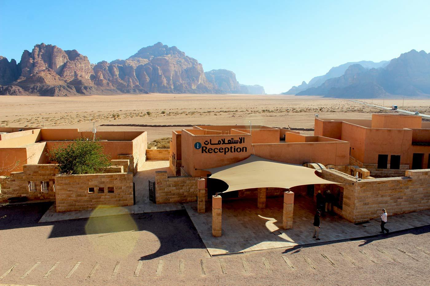 Wadi Rum Jordanien und der Al Hijaz Zug