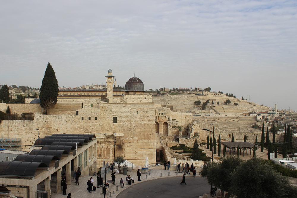 Al-Aqsa Moschee am Ölberg Jerusalem Israel an einem Tag - Sehenswürdigkeiten, Hotel, Highlights und Tipps www.gindeslebens.com