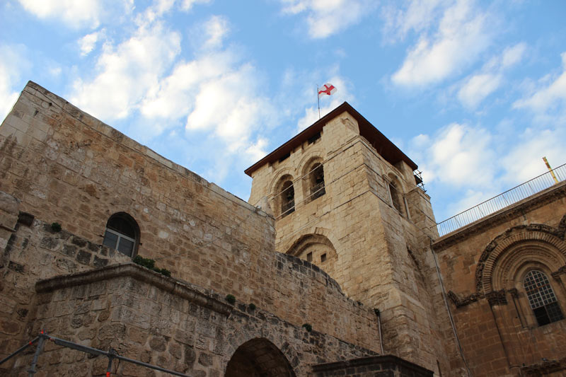 Church of the Holy Sepulchre, die Grabeskirche oder Kirche vom heiligen Grab Jerusalem Israel www.gindeslebens.com