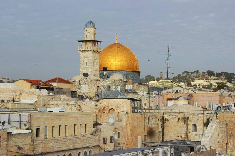 Felsendom Jerusalem Israel an einem Tag - Sehenswürdigkeiten, Hotel, Highlights und Tipps www.gindeslebens.com