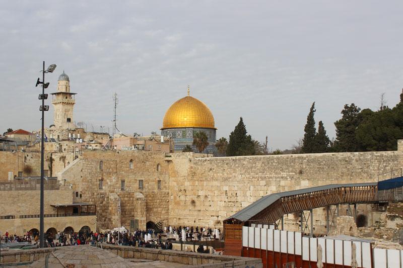 Klagemauer und Felsendom Jerusalem Israel an einem Tag - Sehenswürdigkeiten, Hotel, Highlights und Tipps www.gindeslebens.com