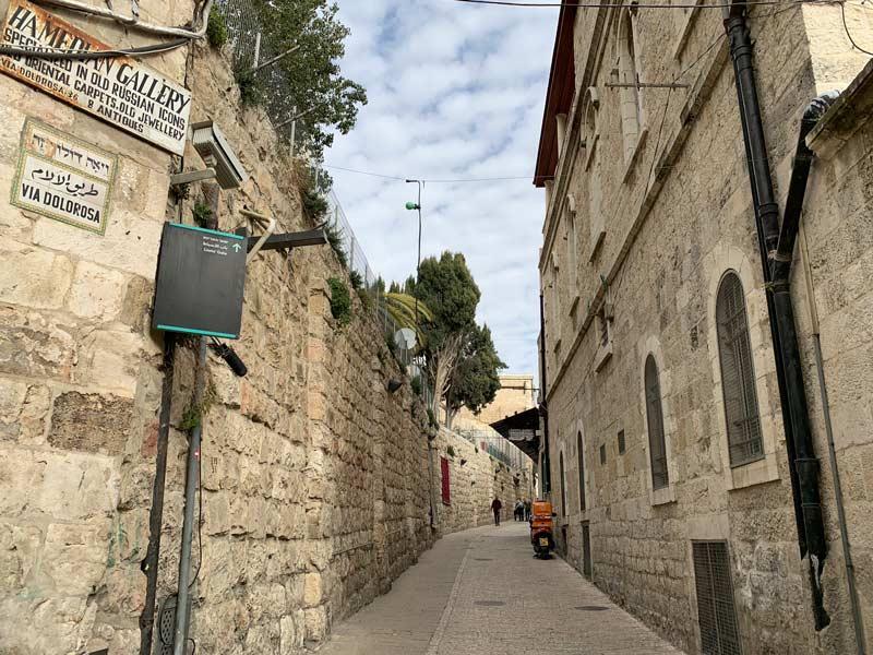 Via Dolorosa Jerusalem Israel an einem Tag - Sehenswertes, Hotel, Highlights und Tipps www.gindeslebens.com