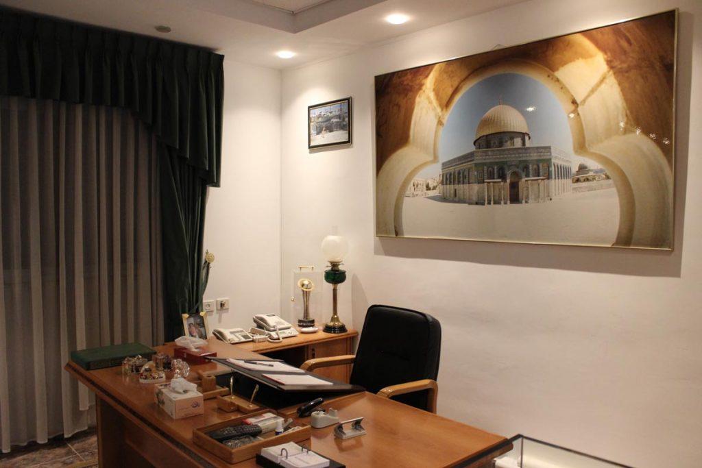 Schreibtisch von Jassir Arafat www.gindeslebens.com
