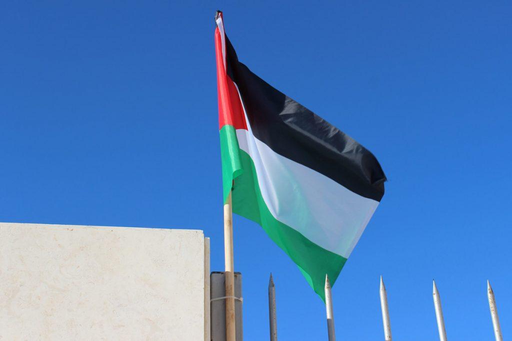 Flagge von Palästina www.gindeslebens.com