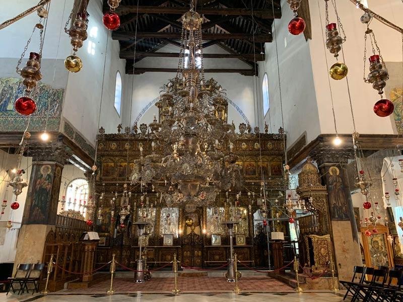 Altar Geburtskirche Bethlehem www.gindeslebens.com