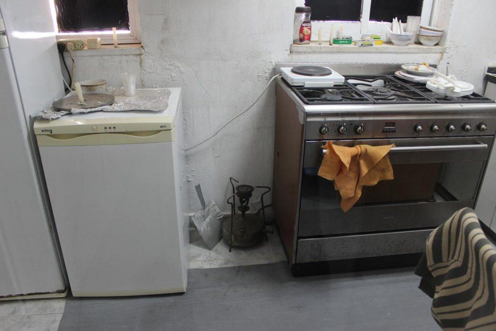 Küche Yasser Arafat Museum www.gindeslebens.com