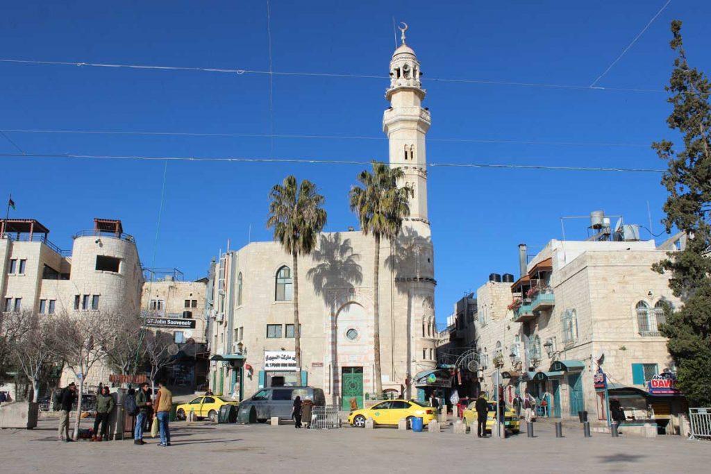 Moschee von Omar Manger Square Bethlehem www.gindeslebens.com