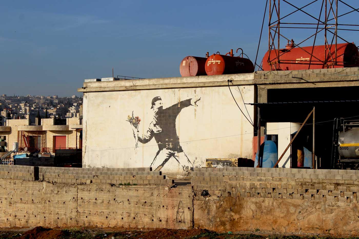 Banksy in Bethlehem – Streetart und Murals in Palästina