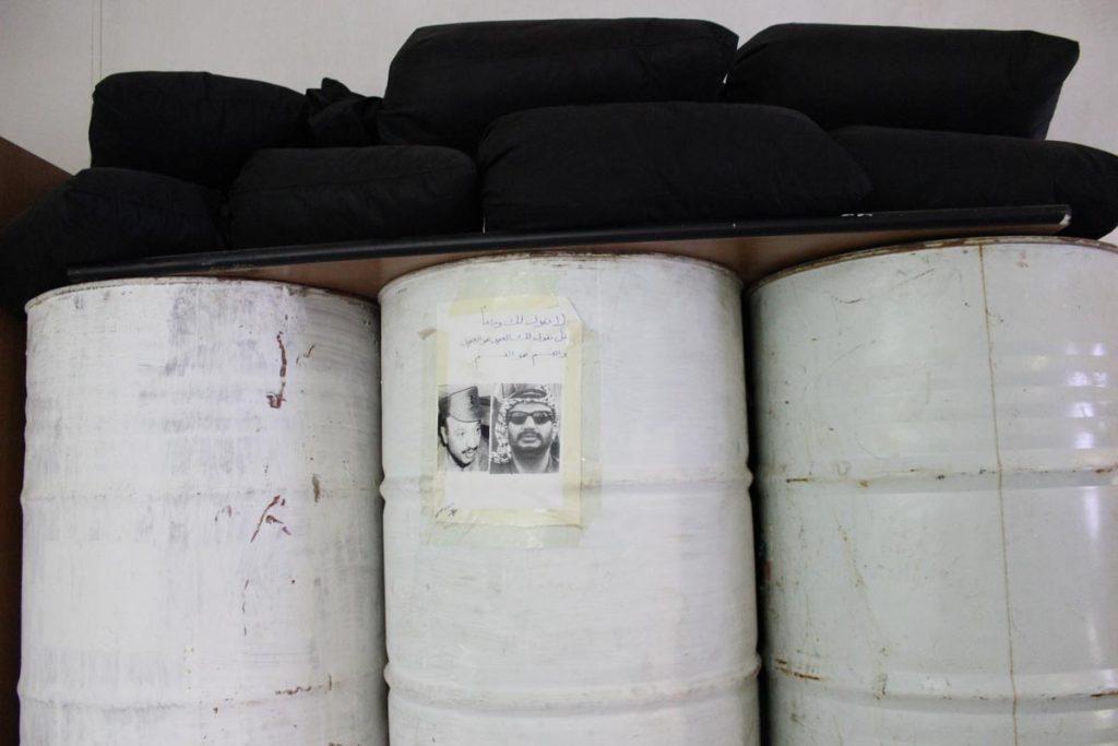 Schlafzimmer von Arafats Wachen www.gindeslebens.com