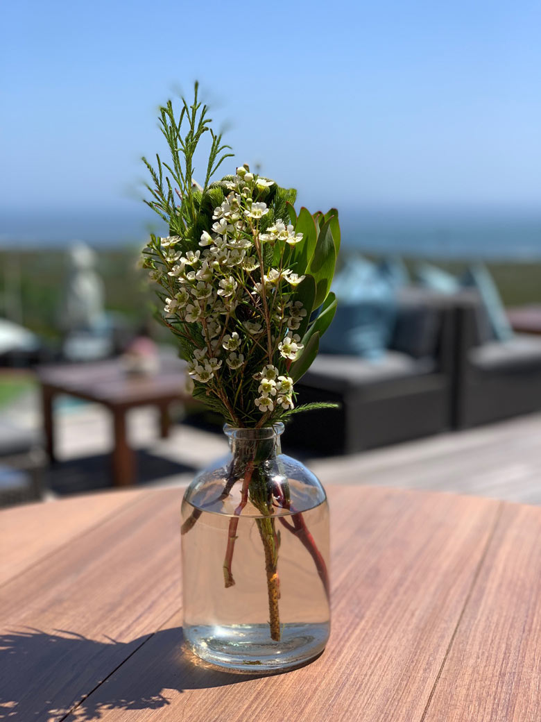 Terrasse Sing Meinen Song Location 2019 Grootbos Privat Nature Reserve www.gindeslebens.com