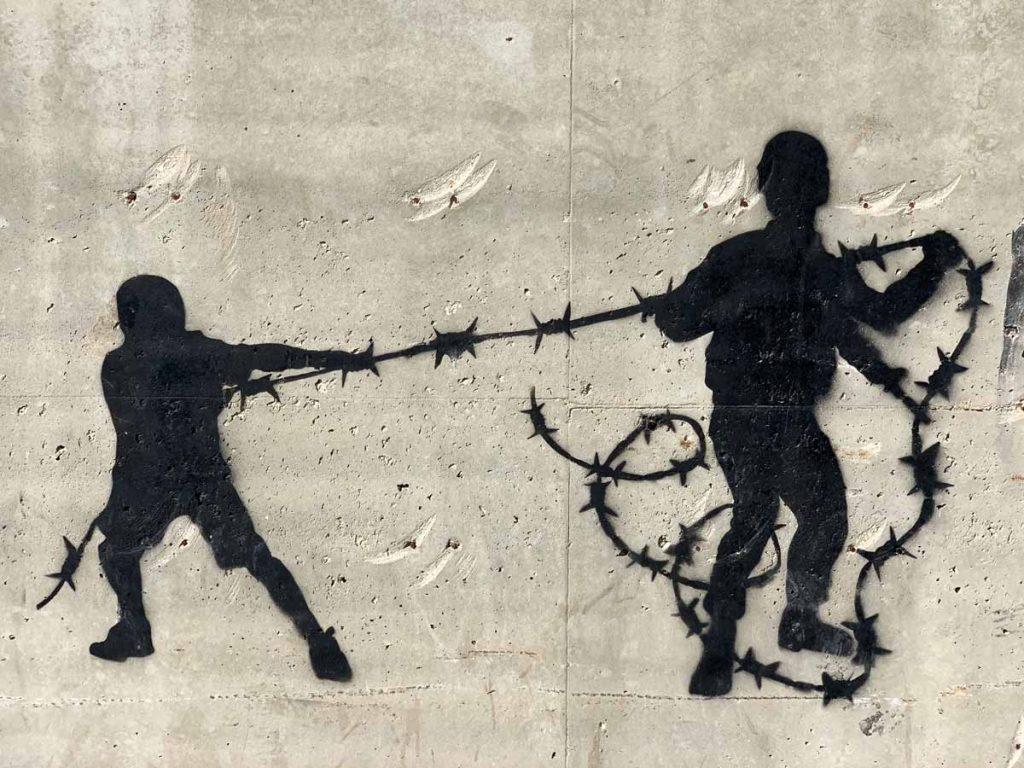 Cakes Stencils – Streetart und Murals in Palästina www.gindeslebens.com