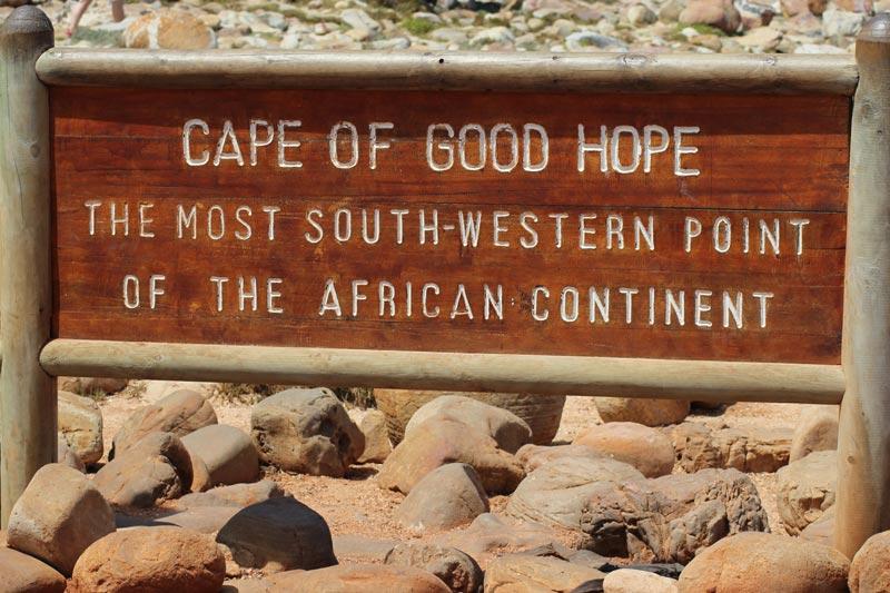 Kap der Guten Hoffnung Südafrika www.gindeslebens.com