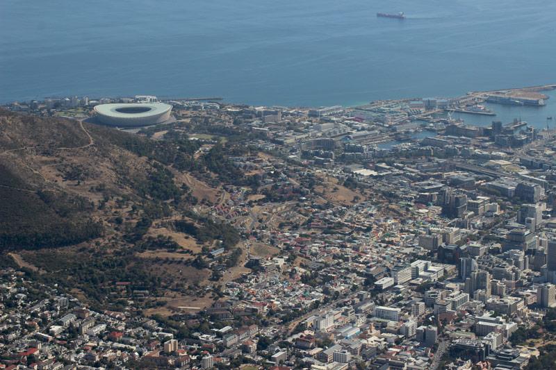 Blick auf Kapstadt www.gindeslebens.com