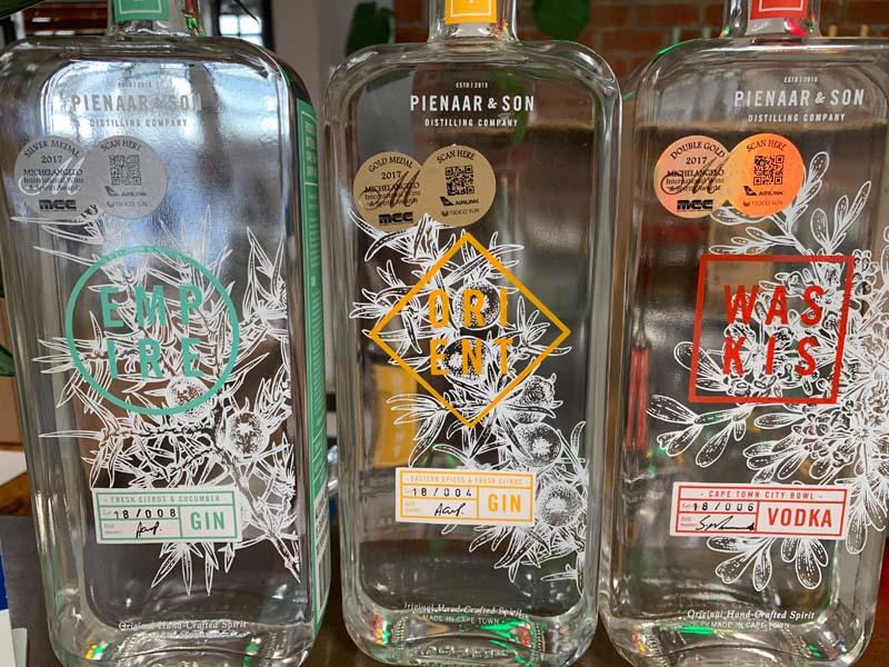 Gin Destillerie Pienaar & Son