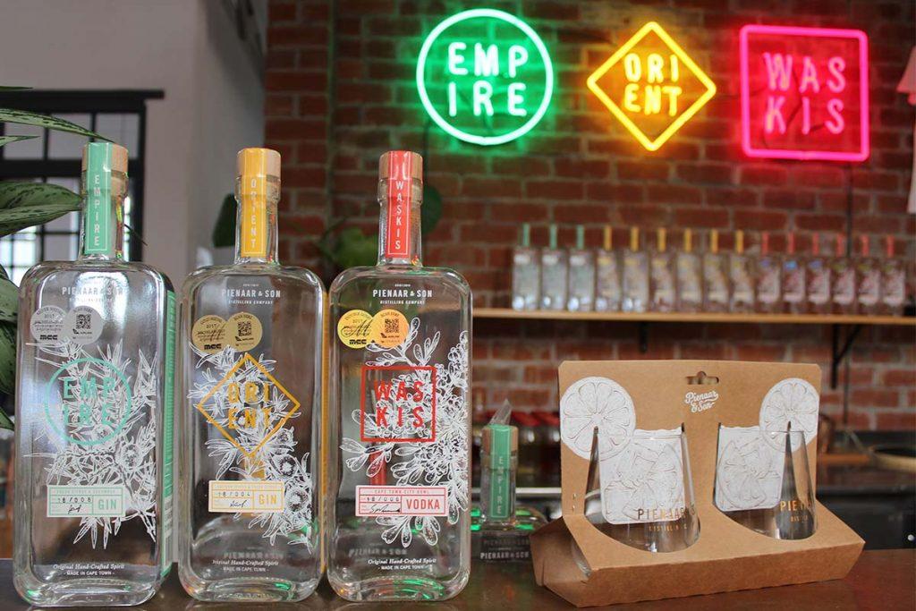 Gin aus Südafrika Pienaar & Son Kapstadt