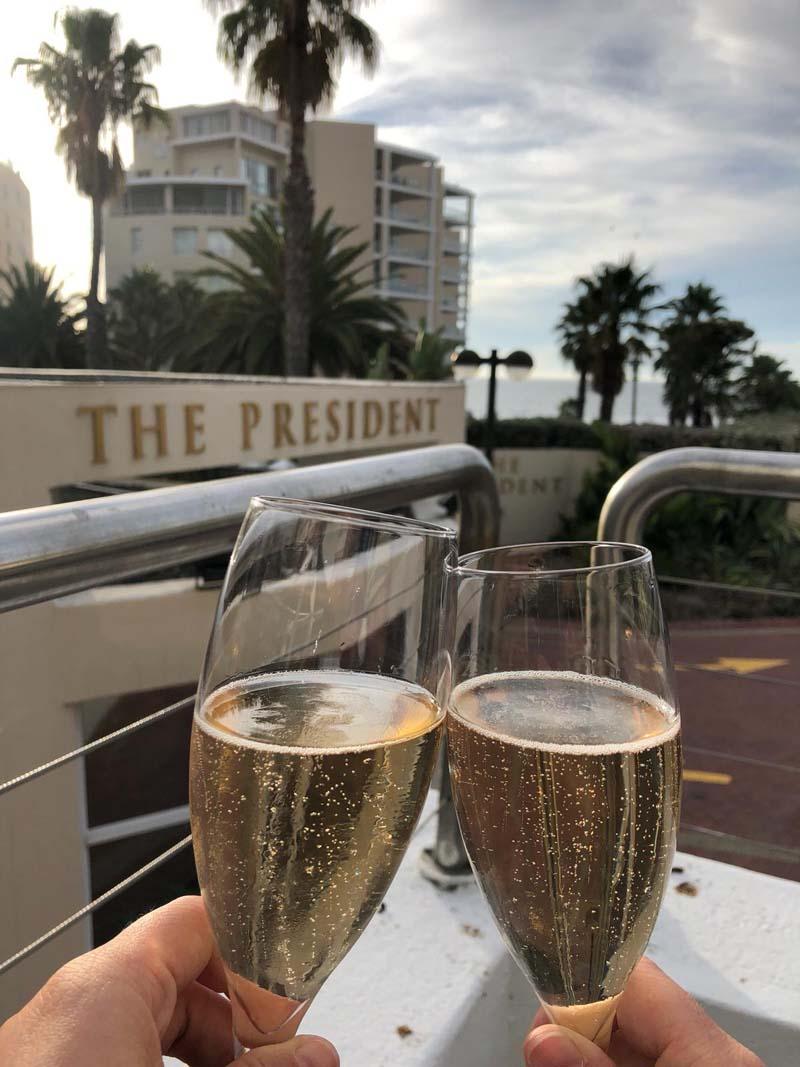 Poolbar President Hotel Kapstadt